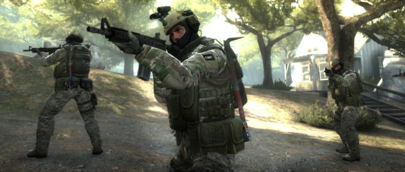Suporte, Sniper e Linha de Frente são algumas funções em Counter Strike