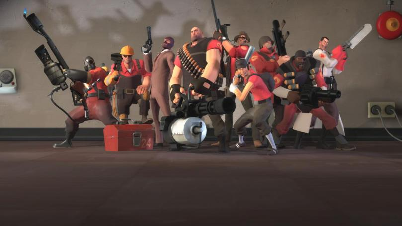 Team Fortress 2 continua sendo popular