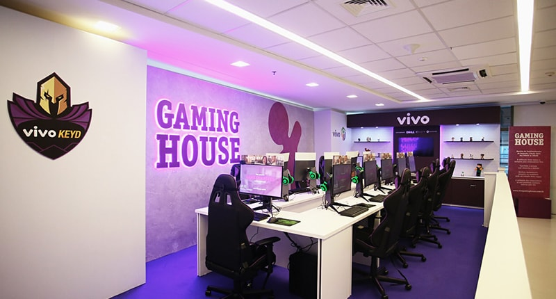 A VIVO oferece Gaming Houses